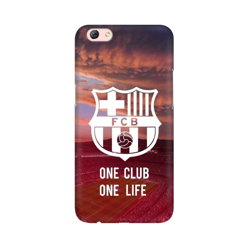 Barcelona One Club One Life Phone Case[Available For 90+ Phone Models] Phone Case printrove Oppo F3 Plus