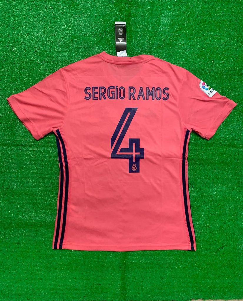 Real Madrid RAMOS 4 Football Jersey Away 20 21 Season [Sale Item]