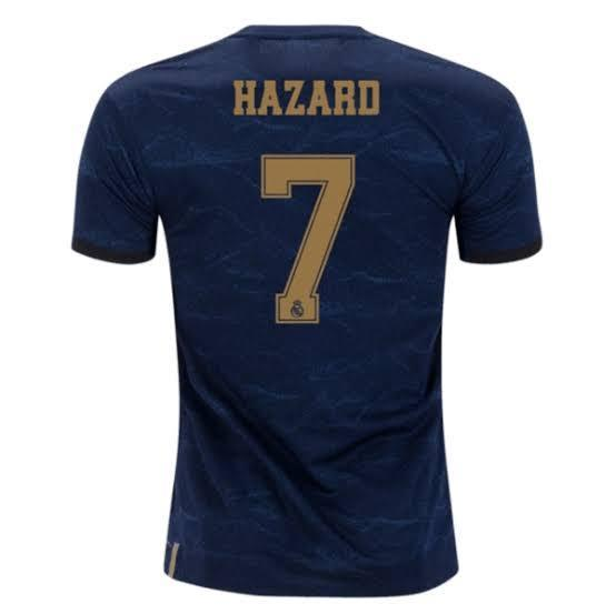 Real Madrid HAZARD 7 Football Jersey Away 19 20 Season [Sale Item] Jersey_NS sportifynow