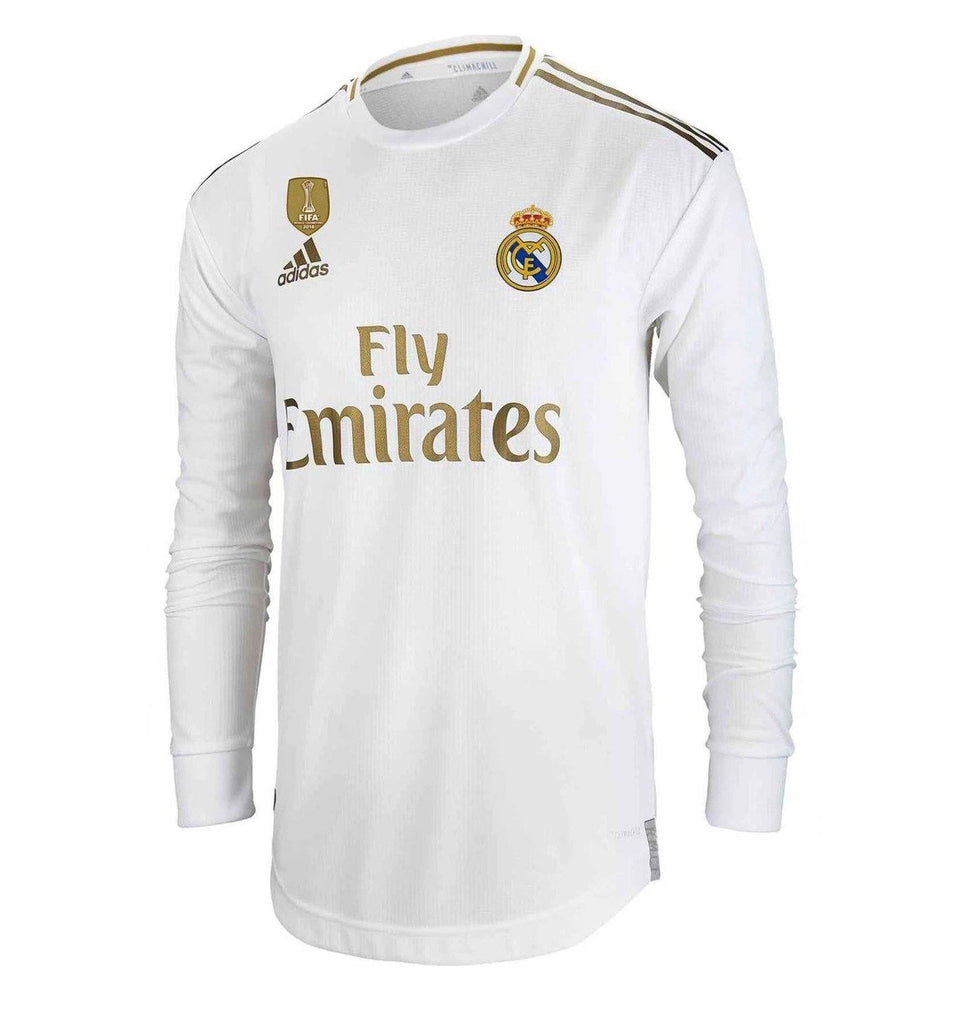 Real Madrid Football Jersey Home FULL SLEEVE 19 20 Season [Sale Item] Jersey_NS sportifynow