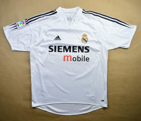 Real Madrid 2004-05 Home Retro Jersey