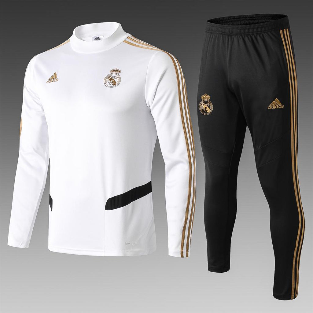 Real Madrid White Training Suit 19 20 Season[🔥CLEARANCE SALE🔥]