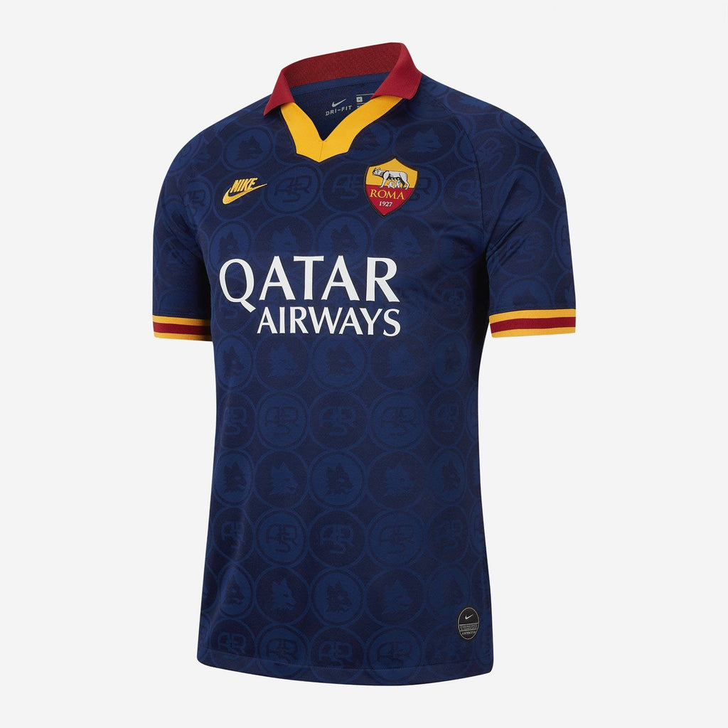 Roma Football Jersey Third 19 20 Season [Sale Item] Jersey_NS sportifynow