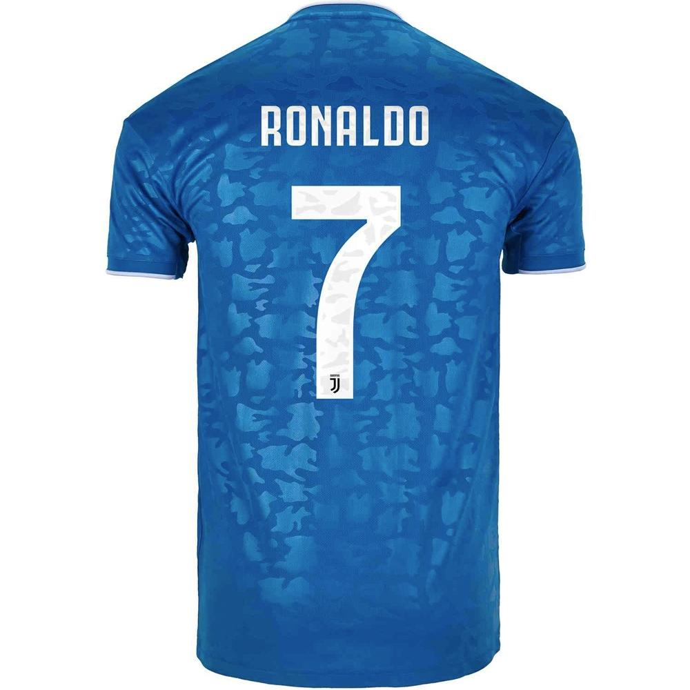 Juventus RONALDO 7 Football Jersey Third 19 20 Season [Sale Item]