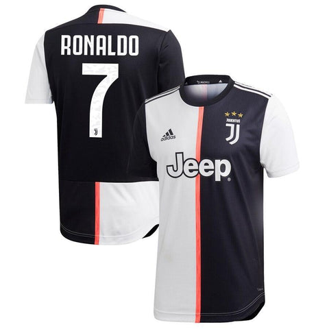 Juventus RONALDO 7 Football Jersey Home 19 20 Season [Sale Item] Jersey_NS sportifynow
