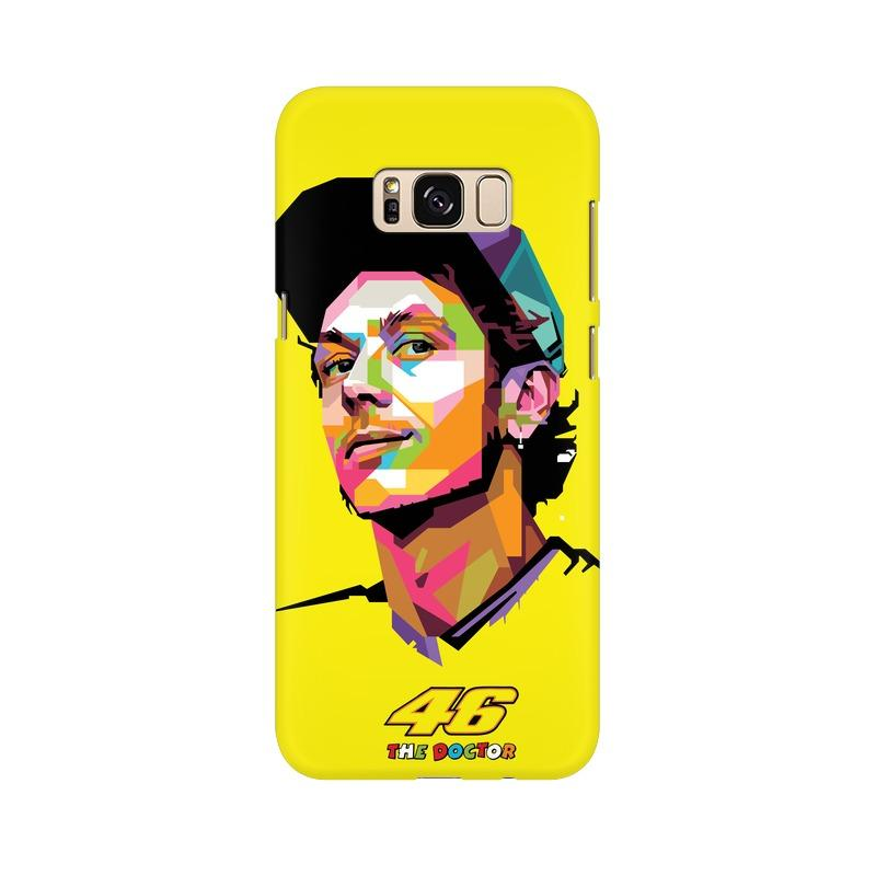 Valentino Rossi VR46 Phone Case[Available For 90+ Phone Models] Phone Case printrove Samsung S8