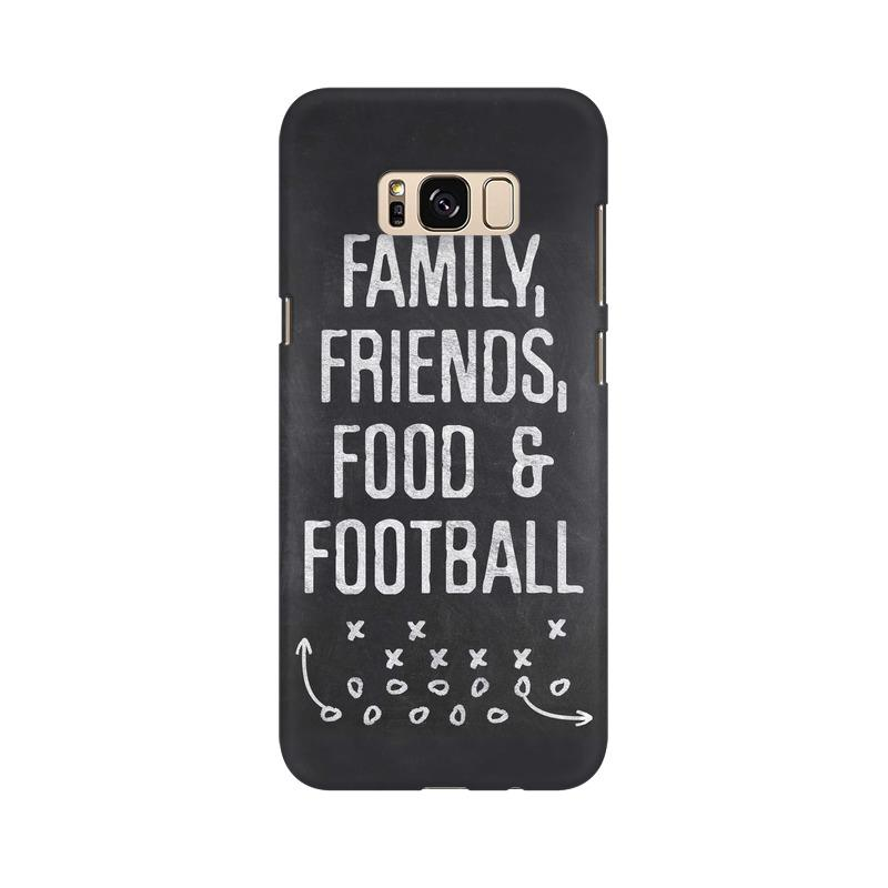 Family Friends Food Football Phone Case[Available For 90+ Phone Models] Phone Case printrove Samsung S8
