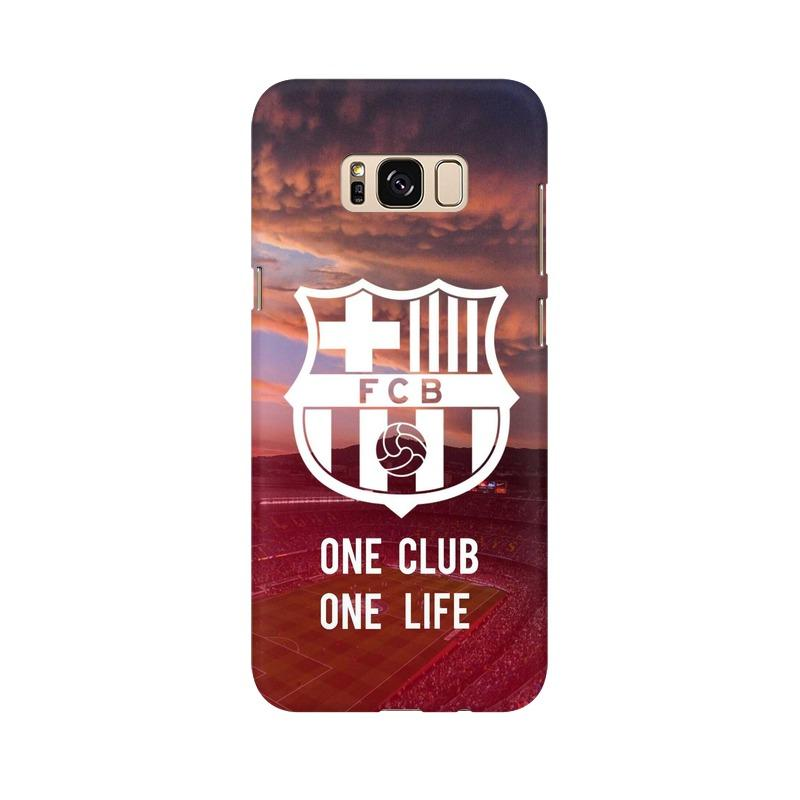 Barcelona One Club One Life Phone Case[Available For 90+ Phone Models] Phone Case printrove Samsung S8