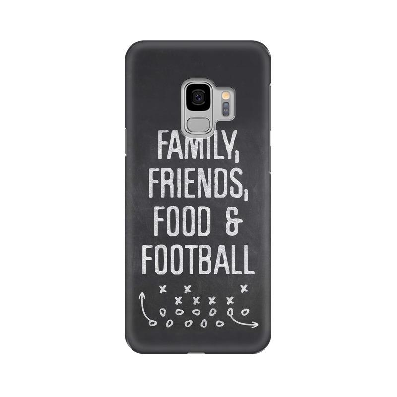 Family Friends Food Football Phone Case[Available For 90+ Phone Models] Phone Case printrove Samsung S9