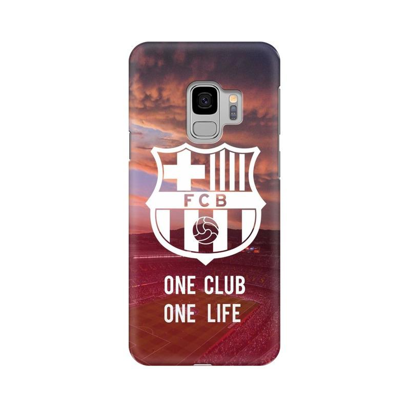 Barcelona One Club One Life Phone Case[Available For 90+ Phone Models] Phone Case printrove Samsung S9