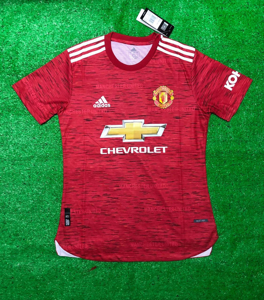 ManU PLAYER VERSION Jersey Home 20 21 Season [Sale Item]