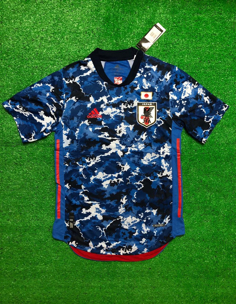 Japan PLAYER VERSION National Team Jersey Home 2020