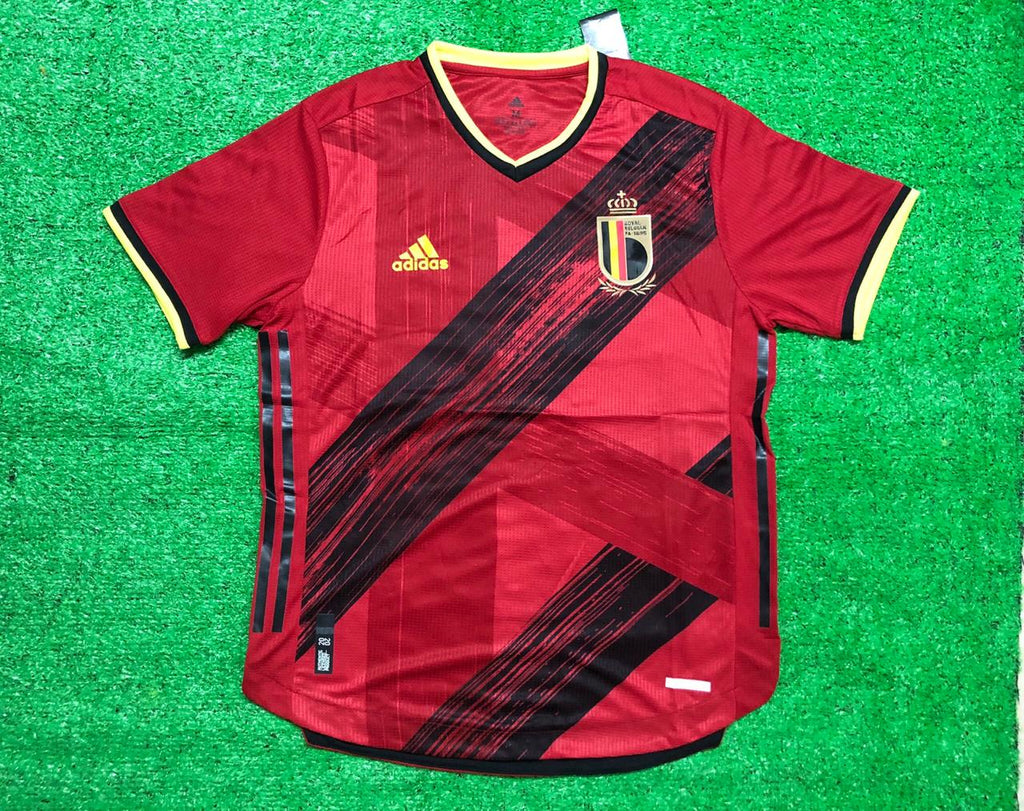 Belgium PLAYER VERSION National Team Jersey Home-EURO CUP 2020
