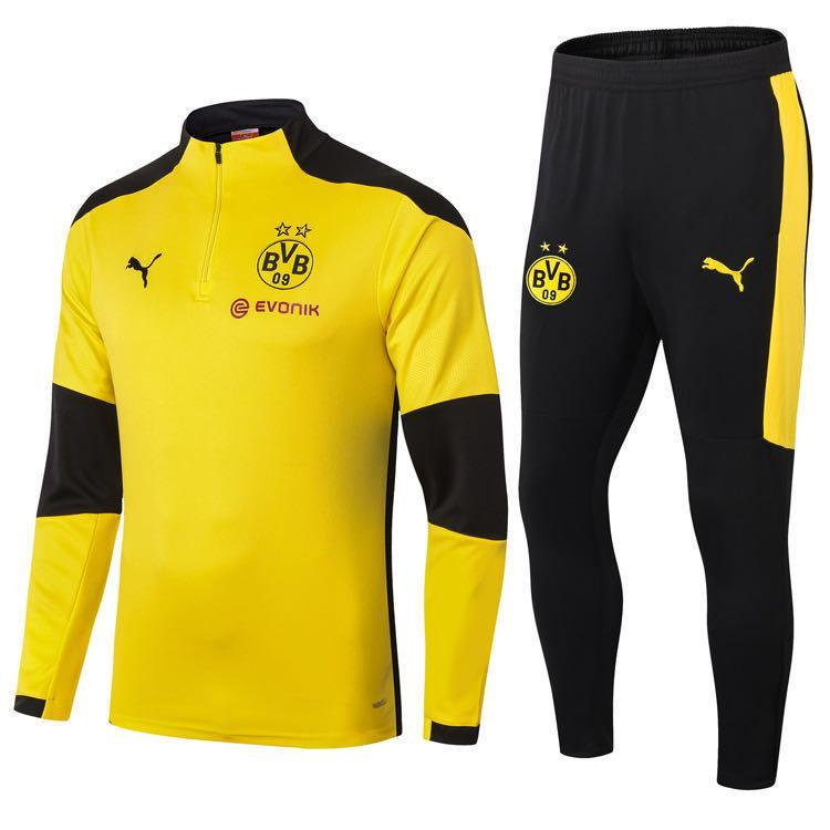 Borussia Dortmund Yellow Training Suit 20 21 Season