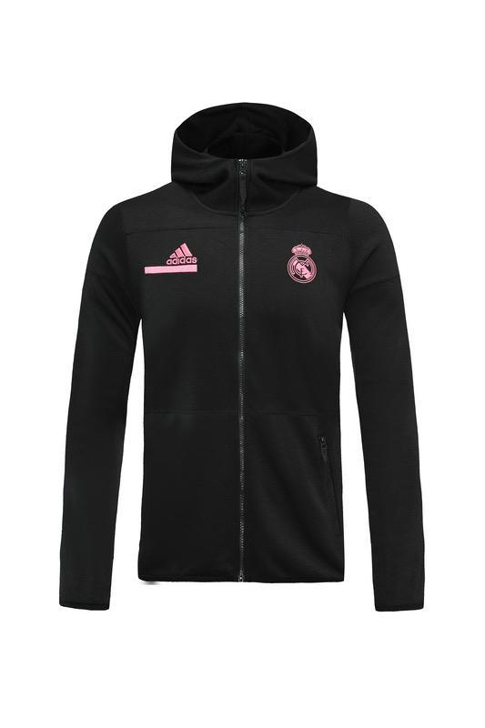 Real Madrid Black Hoodie 20 21 Season