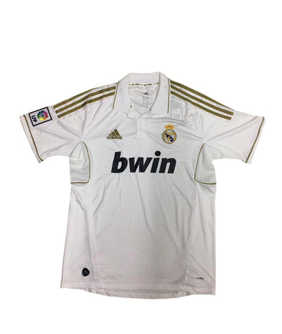 Real Madrid 2011-12 Home Retro Jersey