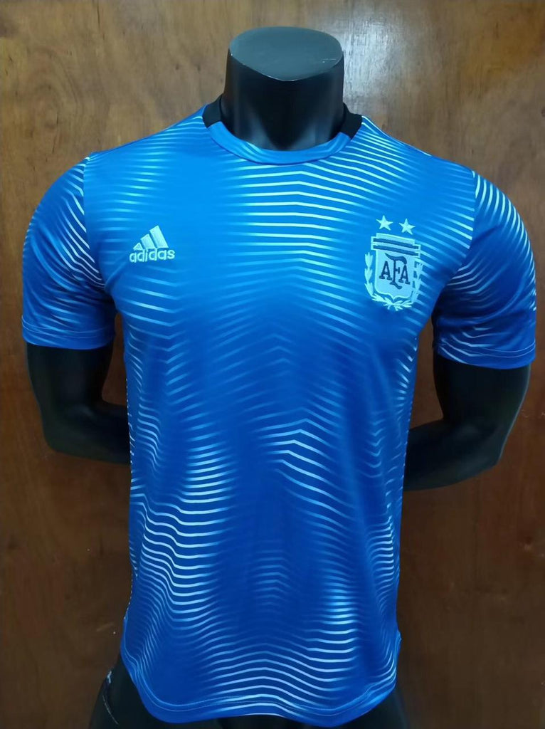 Argentina Blue Training Jersey 18 19 Season