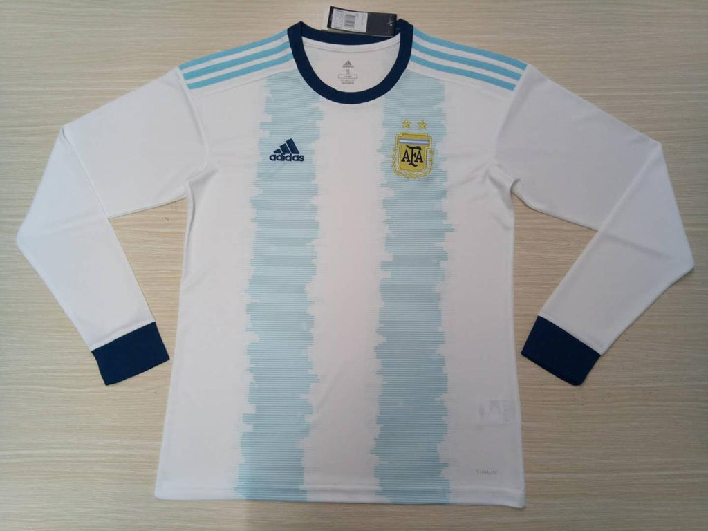 516aec1961d Argentina National Team Copa America Home FULL SLEEVE Jersey  Sale Item