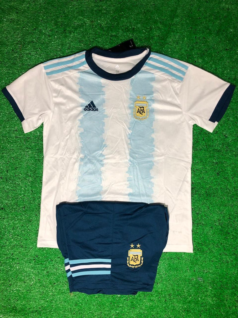 Argentina Copa America KIDS Jersey + Free Shorts