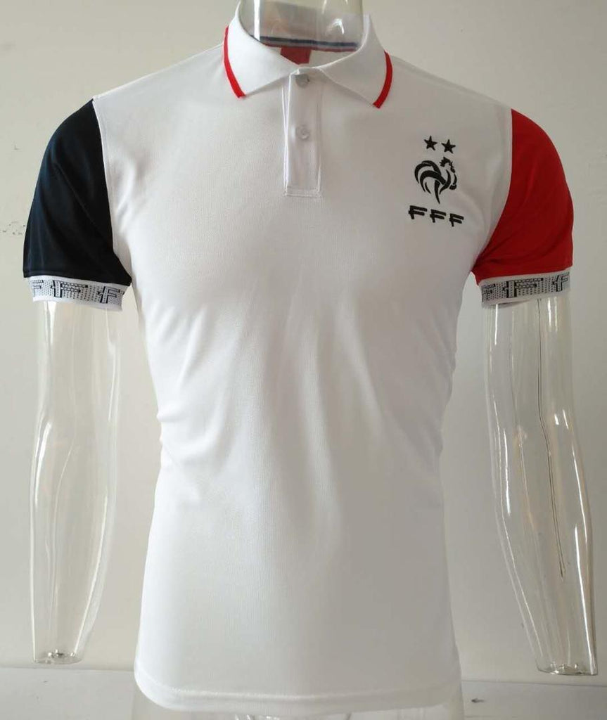 France White Polo T-Shirt