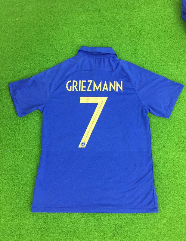 France 100th Anniversary GRIEZMANN 7 Limited Edition Jersey Jersey_NS sportifynow