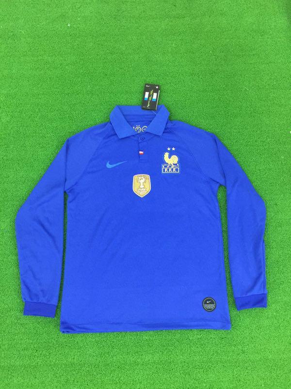 France 100th Anniversary FULL SLEEVE Limited Edition Jersey Jersey_NS sportifynow