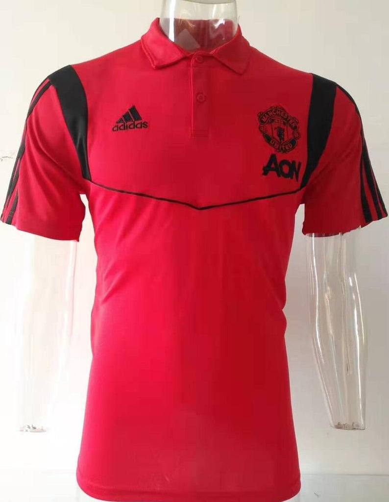 Manchester United Red Polo T-Shirt POLO sportifynow