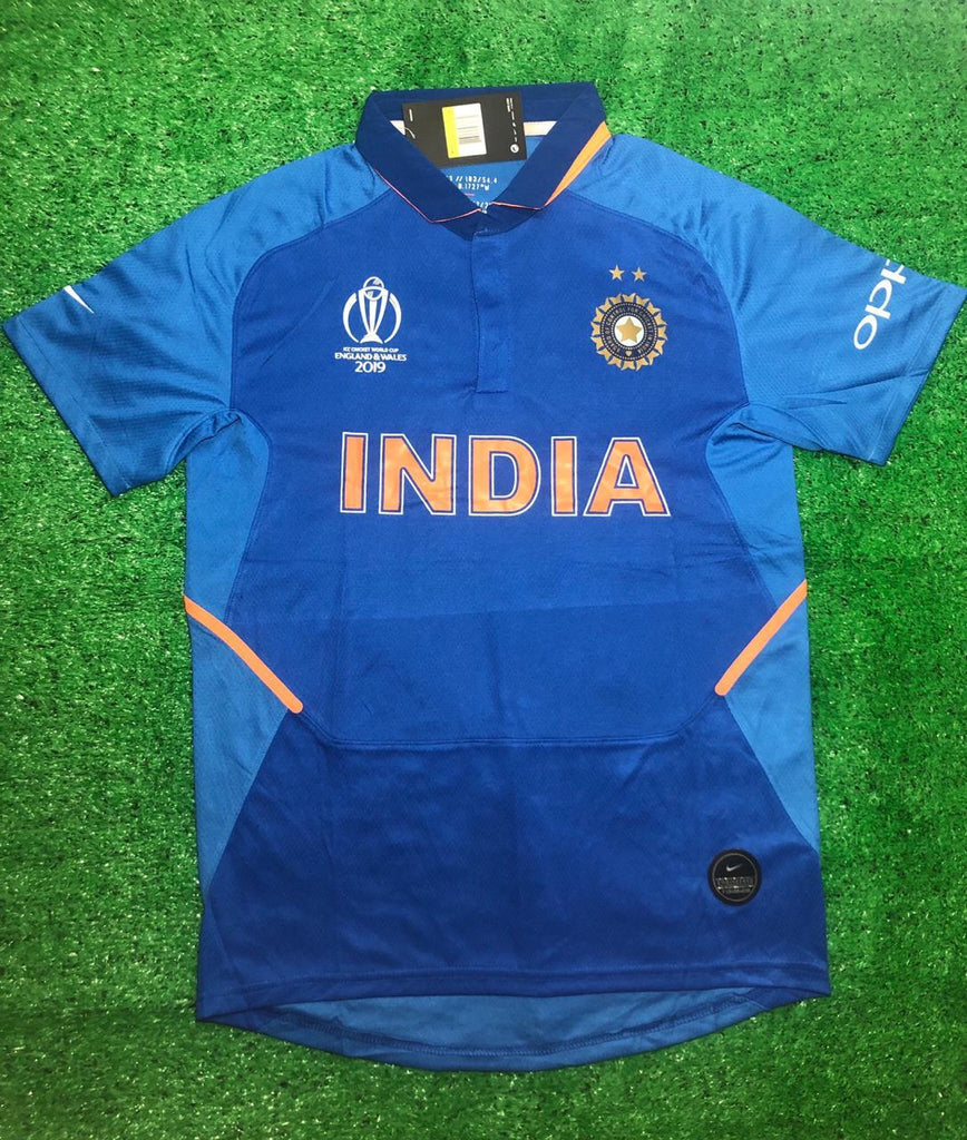 India Cricket World Cup Jersey 2019 [Premium Quality]