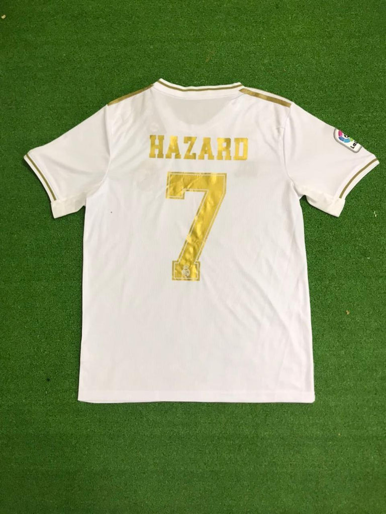 Real Madrid HAZARD 7 Football Jersey Home 19 20 Season [Sale Item]