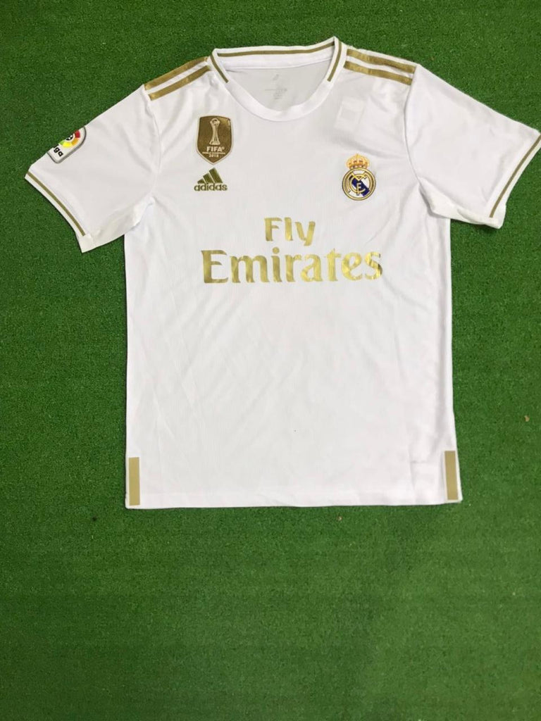 Real Madrid BENZEMA 9 Football Jersey Home 19 20 Season [Sale Item] Jersey_NS sportifynow