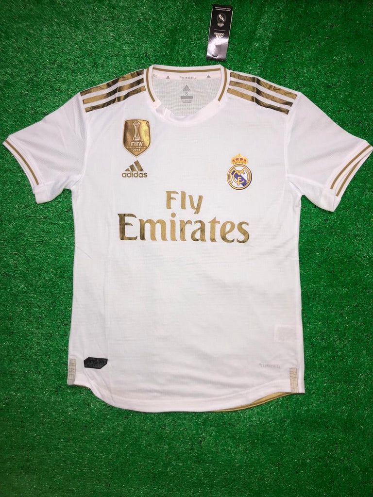 Real Madrid PLAYER VERSION Football Jersey Home 19 20 Season Jersey_NS sportifynow