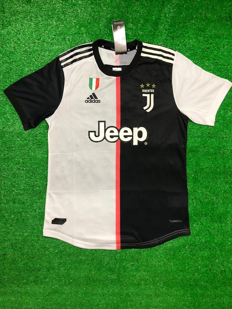 Juventus PLAYER VERSION Jersey Home 19 20 Season [Sale Item] Jersey_NS sportifynow