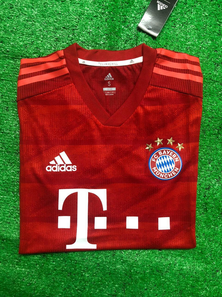 Bayern Munich PLAYER VERSION Jersey Home 19 20 Season [Sale Item] Jersey_NS sportifynow