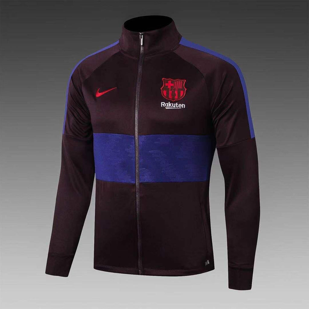 Barcelona Maroon and Blue Winter Jacket 19 20 Season[🔥CLEARANCE SALE🔥]