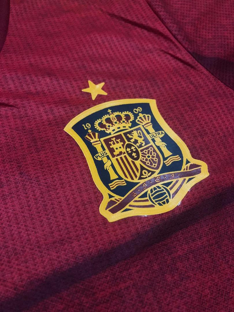 Spain National Team PLAYER VERSION Jersey Home-EURO CUP 2020