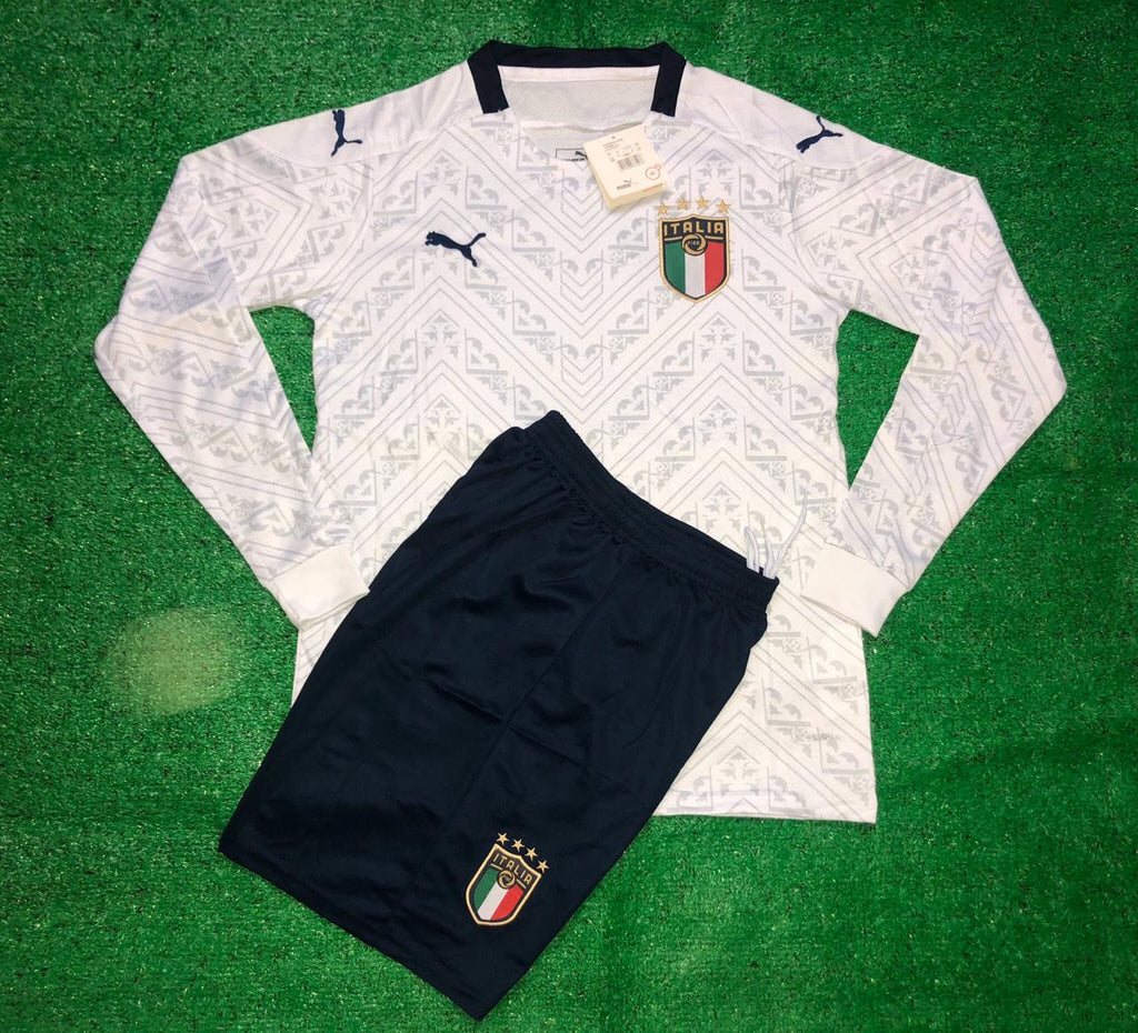 Italy National Team Jersey FULL SLEEVE Away-EURO CUP 2020