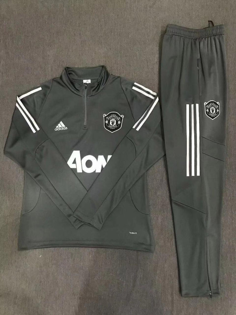 Manchester United GREY Training Suit 19 20 Season