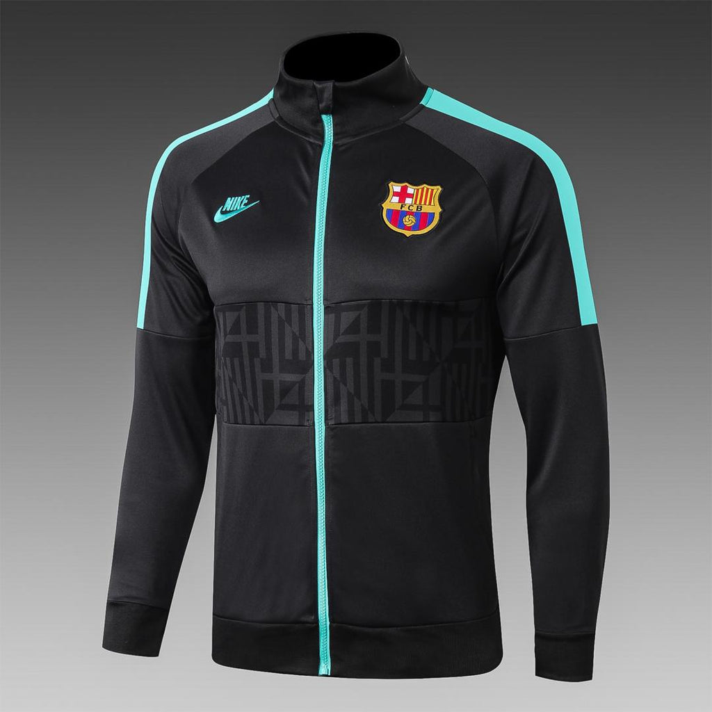 Barcelona Black Winter Jacket 19 20 Season[🔥CLEARANCE SALE🔥]