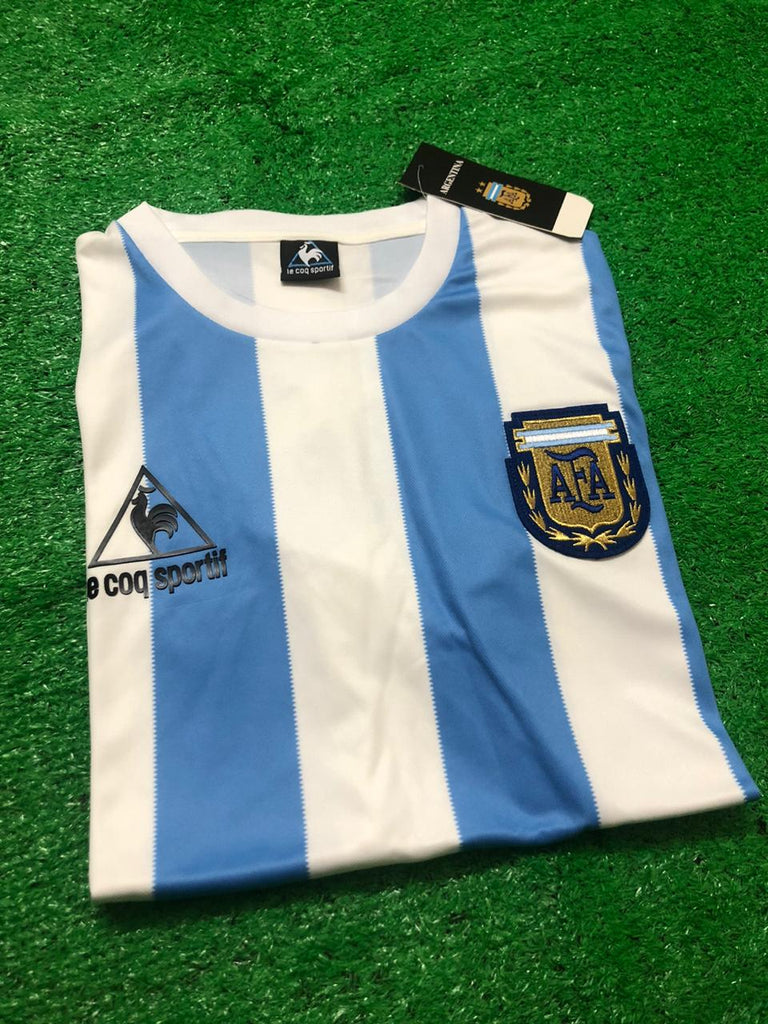Argentina 1986 World Cup Retro Jersey