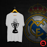 Real Madrid Champions Football T Shirt