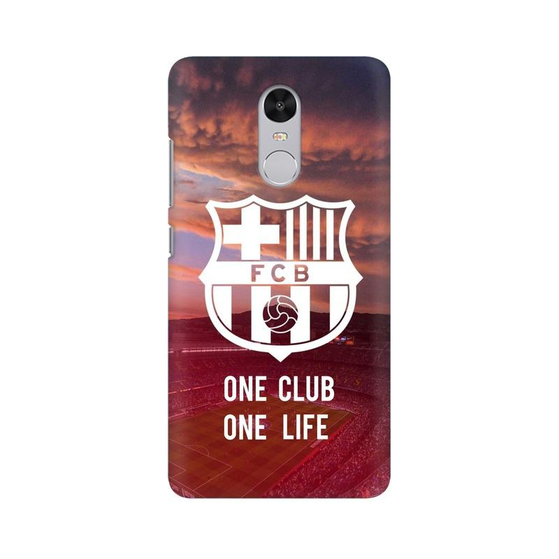 Barcelona One Club One Life Phone Case[Available For 90+ Phone Models] Phone Case printrove Xiaomi Redmi Note 4