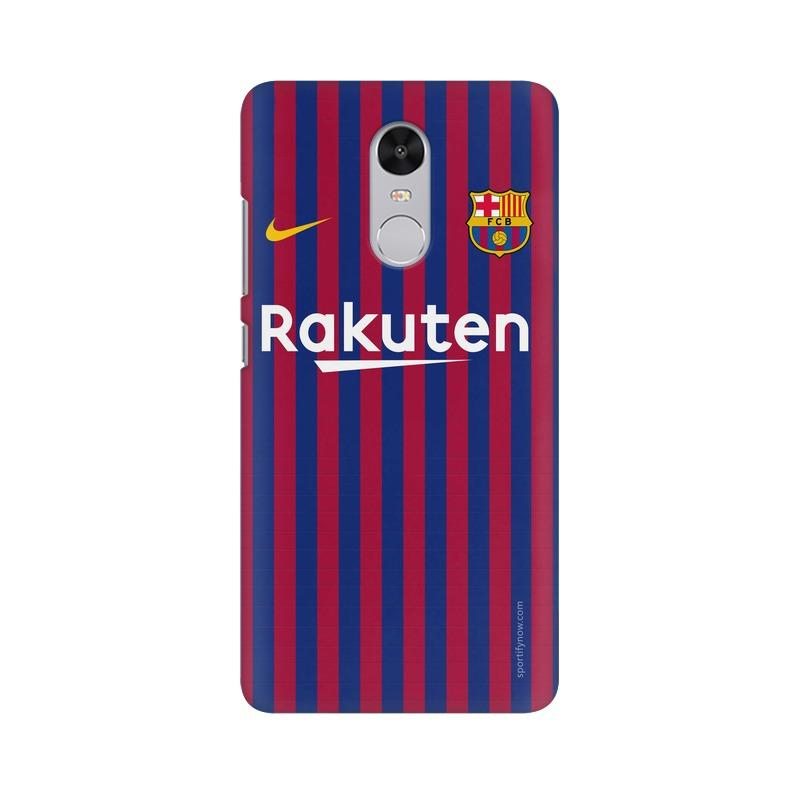 Barcelona Jersey Home 18 19 Phone Case[Available For 90+ Phone Models] Phone Case printrove