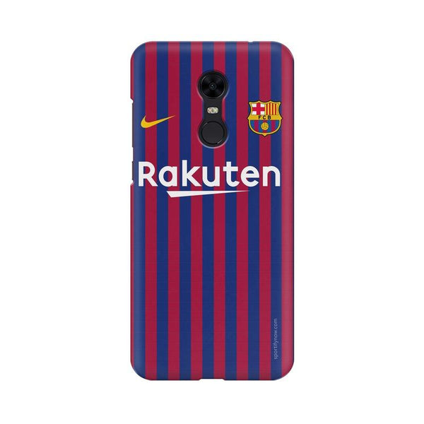 Barcelona Jersey Home 18 19 Phone Case[Available For 90+ Phone Models]