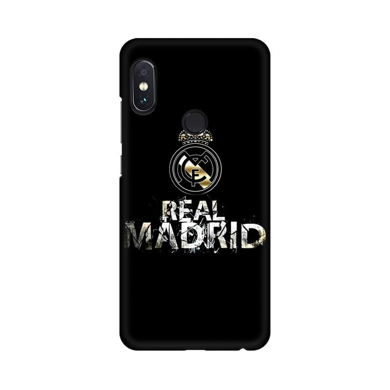 Real Madrid Phone Case[Available For 90+ Phone Models] Phone Case printrove Xiaomi Redmi Note 5 Pro