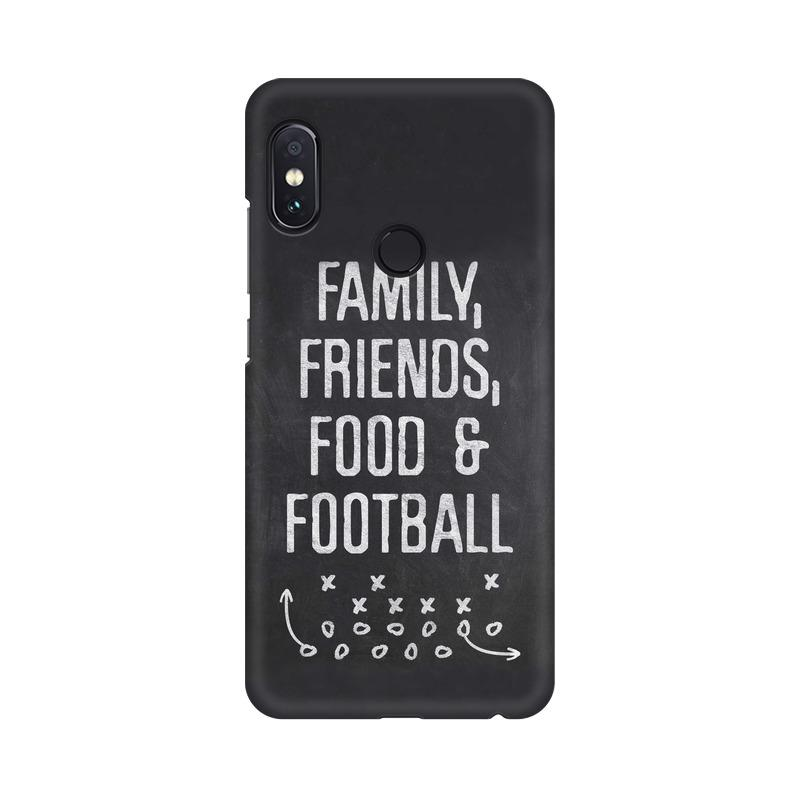 Family Friends Food Football Phone Case[Available For 90+ Phone Models] Phone Case printrove Xiaomi Redmi Y1