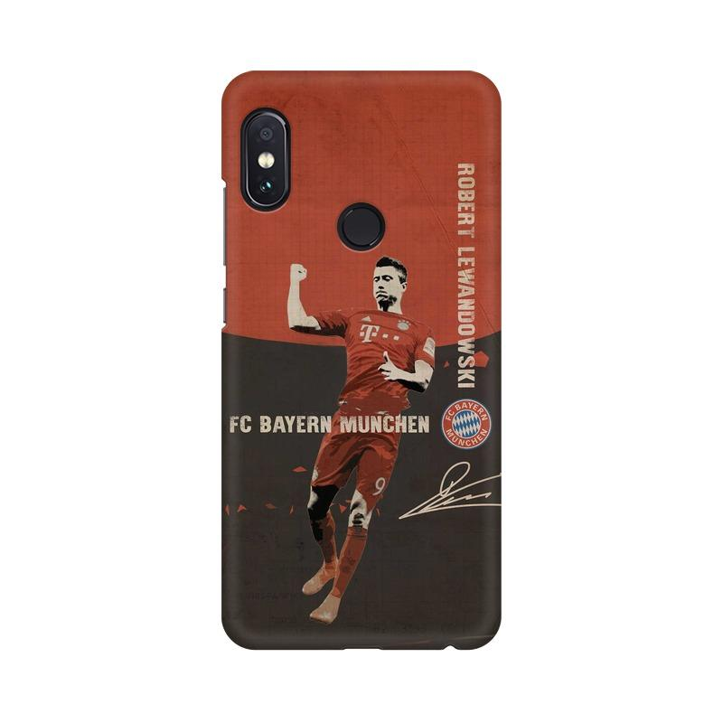 Lewandowski Bayern Phone Case[Available For 90+ Phone Models] Phone Case printrove Xiaomi Redmi Note 5 Pro