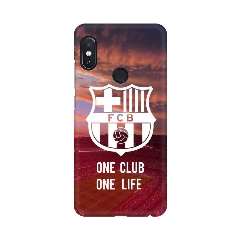 Barcelona One Club One Life Phone Case[Available For 90+ Phone Models] Phone Case printrove Xiaomi Redmi Note 5 Pro