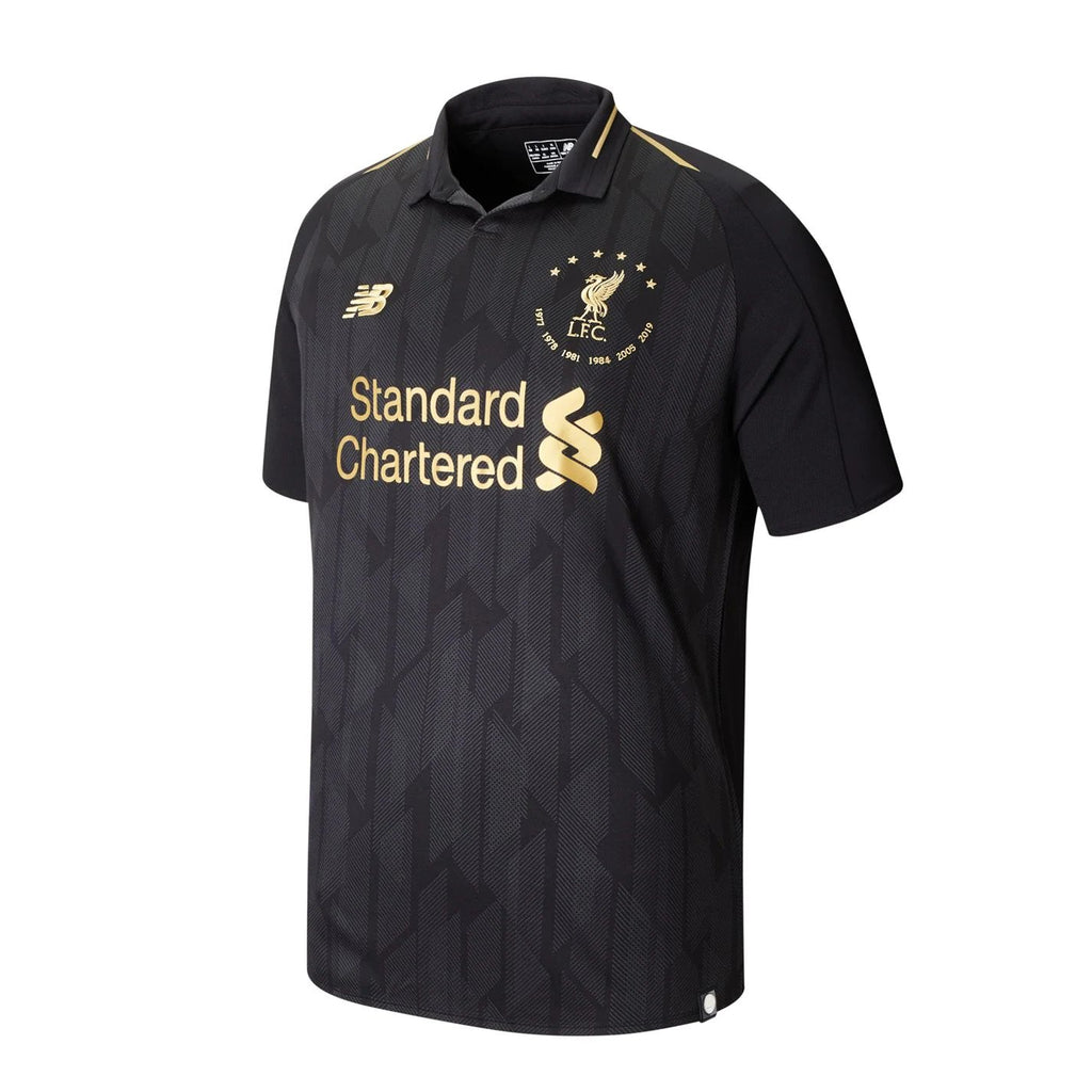 Liverpool 6 Times Black Limited Edition Jersey [Sale Item]