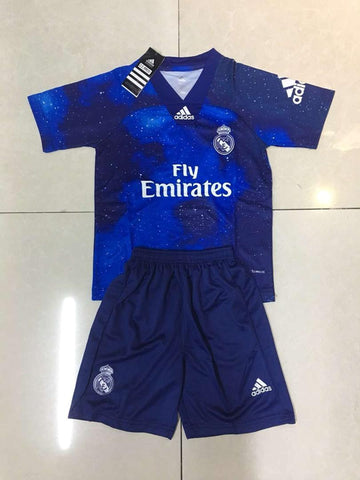 Real Madrid KIDS EA Sports Limited Edition Jersey+Free Shorts