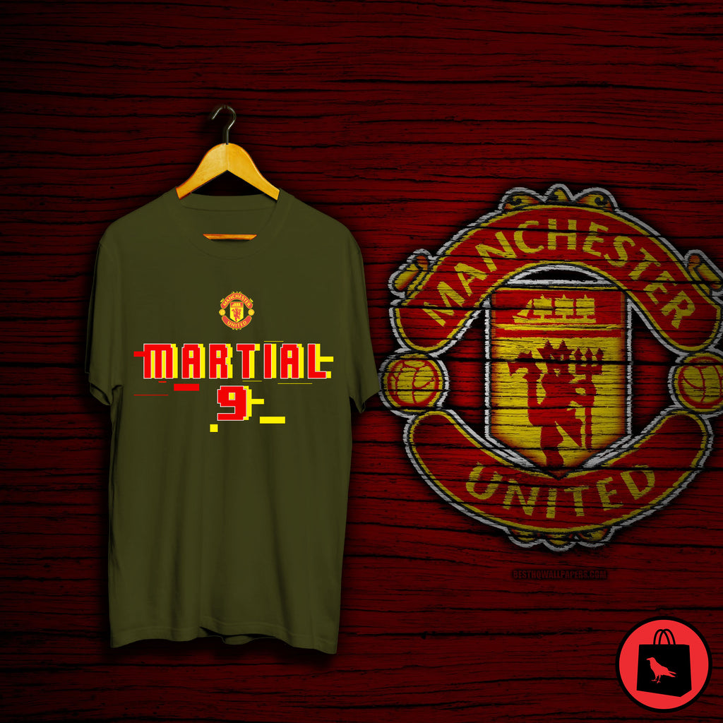 MARTIAL 9 Manchester Football T Shirt